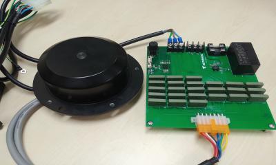 가변 결선형 BLDC(Brushless Direct Current) 모터이미지
